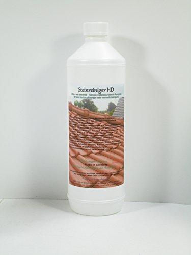 A.K.B. Steinreiniger HD Konzentrat, (KEIN BIOZID !!!) Rostentferner, FliesenGrundreiniger, 0814 (1 L Flasche) (Gartenarbeit Steine)