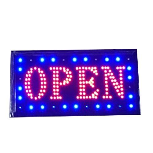 Neon Lights - Señal Texto inglés Customers Attractive