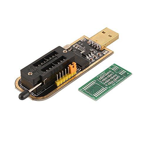 Kreema USB TTL Programmierer CH341A Serie Routing-Brenner Chip 24 EEPROM BIOS-Brenner 25 SPI Flash-Modul Board -