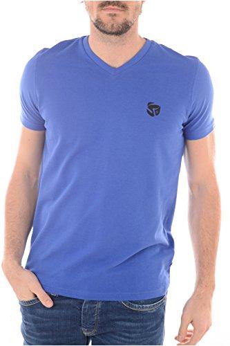Redskins -  T-shirt - Collo a V  - Maniche corte  - Uomo blu 42