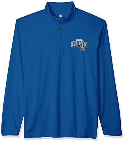 UNK NBA Herren Quarter Zip Pullover Shirt Athletic Quick Dry Tee, Herren, Quarter Zip Pullover Shirt Athletic Quick Dry Tee, Team Color, X-Large