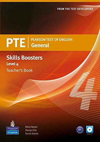 Pearson Test of English General Skills Booster 4 Teacher's Book and CDPack (Pearson Tests of English)