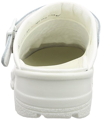 Sanita San-Duty Open-Sb, Sabots Mixte Adulte Blanc - Weiß (White 1)