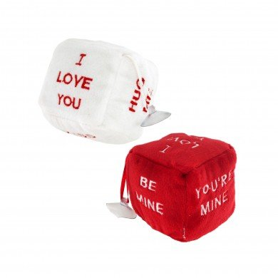 "OKK TRADING INC 3"" Plush Love Dice"