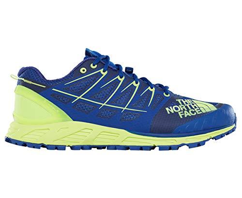The North Face M Ultra Endurance II, Chaussures de Fitness Homme, Bleu (Bright Blue/Dayglo Yellow 4Cu), 45 EU