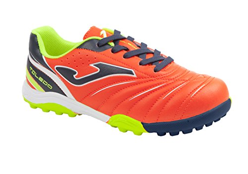 SCARPE JOMA TOLEDO JR 603 NAVY-ORANGE TURF NARANJA-MARINO PT