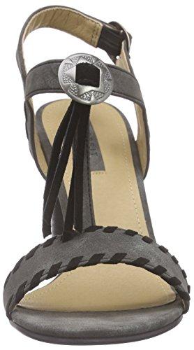 Esprit Kali Sandal, Sandales Bride cheville femme Noir - Schwarz (001 black)