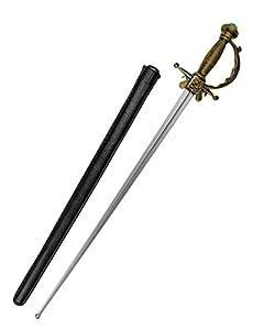 Boland 00689 Musketier Degen mit Scheide, One Size