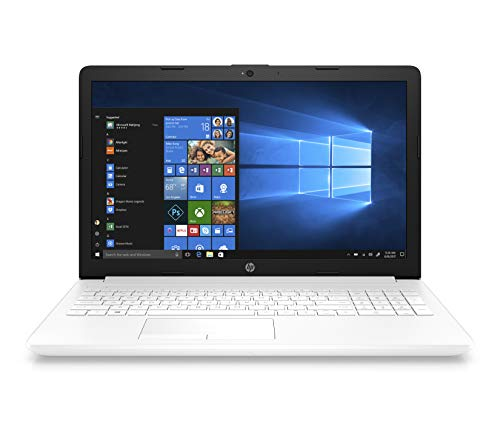 HP Notebook 15-db0045ns - Ordenador Portátil 15.6' HD (AMD Ryzen 5, 12 GB RAM, 256 GB SSD, AMD Radeon, Windows 10), Color Blanco - Teclado QWERTY Español