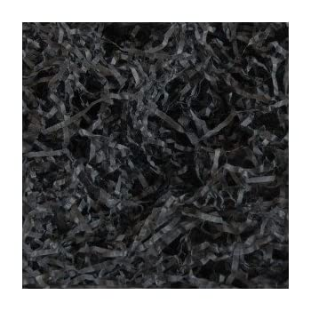 Black 40 Grams of Extra Soft Shredded Tissue Paper Luxury Hamper Shred Gift Packaging Select Your Colour