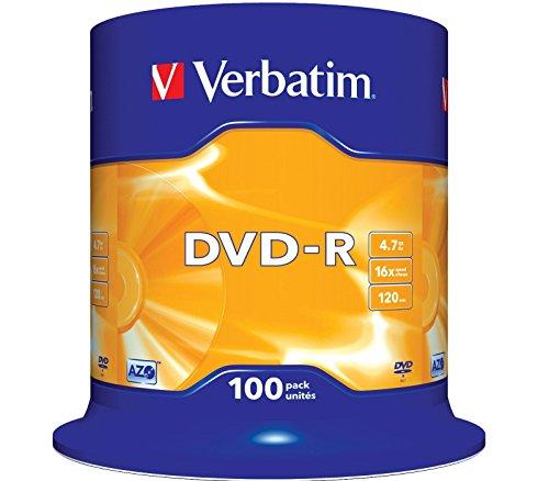 2x 50 DVD VERBATIM -R 16X 4.7GB ENVIO URGENTE