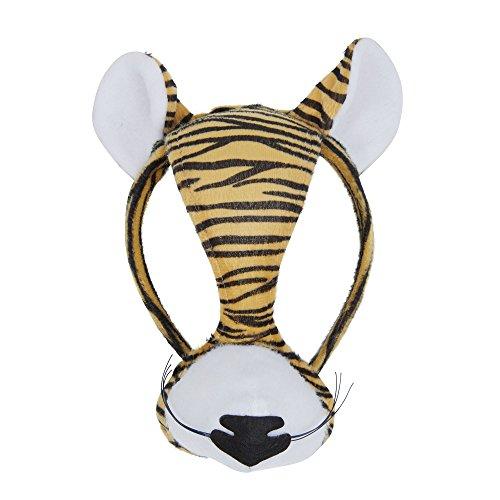 Bristol Novelty EM159 Tiger Maske, - Tiger Tanz Kostüm