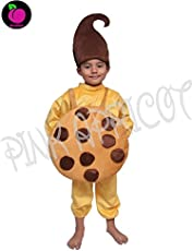 Pink Apricot Cookie Biscuit Eatables Food Costume