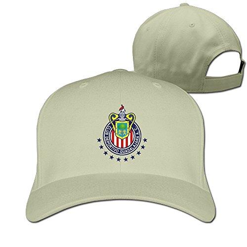 Hittings Cool Chivas De Guadalajara Snapback Baseball Cap Women/Men Natural
