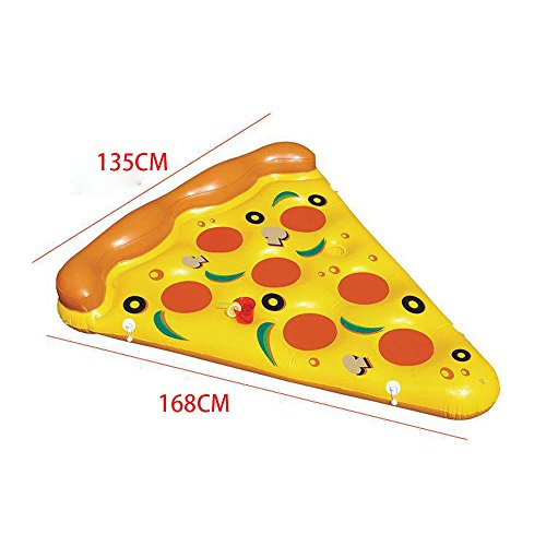 Zoom IMG-1 ygjt piscina galleggiante pizza gigante