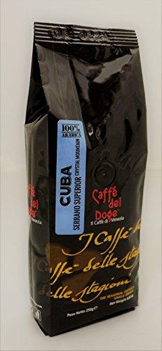 Caffe del Doge Kuba Cuba Bohnen 250g, Espresso,Kaffee Monoorigine 100% Arabica
