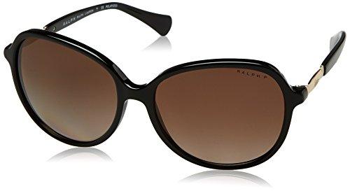 Ralph Lauren Ralph by Damen 0RA5220 1377T5 57 Sonnenbrille, Black/Browngradientpolarized,
