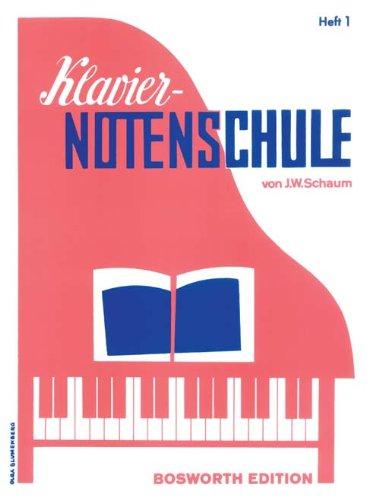 Klavier Notenschule Heft 1