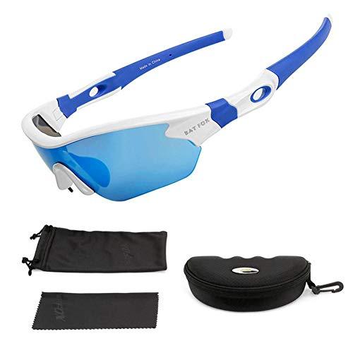 Futurepast Radfahren Gläser, Sport Schutzbrille, Winddichte Brille für Damen und Herren Radfahren Laufbrille Outdoor Sportarten by