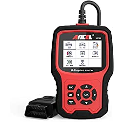 ANCEL VD700 Full System OBD2 Code Reader with 8 Special Functions for VAG Vehicles Diagnosis OBD Scanner Oil TPMS EPB TPS Reset Injector Adaption SAS DPF Scan Tool