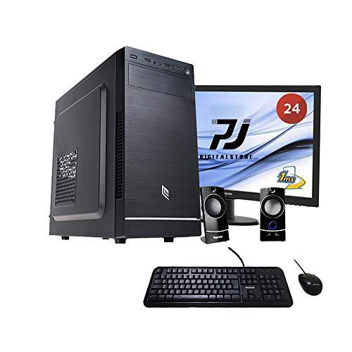 Pc desktop completo intel quadcore 2.00ghz,hdd 1tb,ram 8gb,computer fisso completo,monitor 24