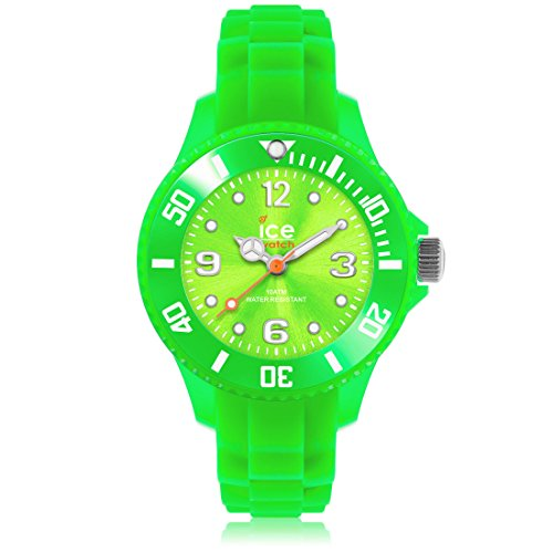 Ice-Watch-Childrens-Green-Sili-Forever-Watch-SIGNMS13