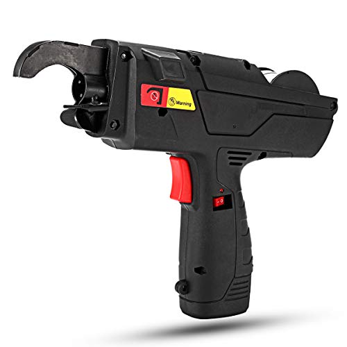 10,8 V Automatischer Rebar Bindemaschine, Handschlaufe, 8-34 mm, mit 2 Batterien