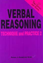 Verbal Reasoning Technique and Practice: Volume 2 by Daughtrey, Susan J. [01 November 1993]