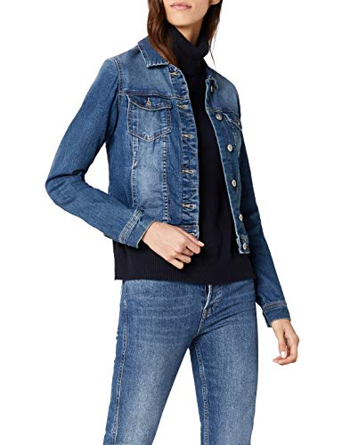 ONLY Damen Jacke onlNEW WESTA DET.JACKET PIM4203 DNM NOOS Blau (Medium Blue Denim) 38