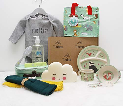 Canastilla bebé unisex Happy Baby - Cesta regalo bebé a partir de...
