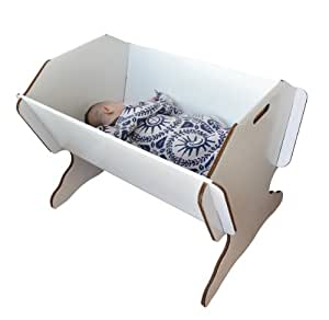 Green Lullaby - lit pour enfant en carton avec pieds de support