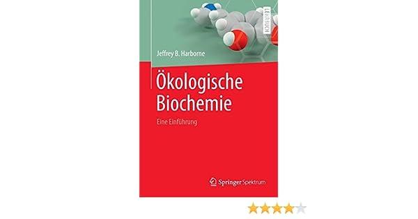 Ökologische Biochemie: Eine Einführung German Edition: Amazon.de ...