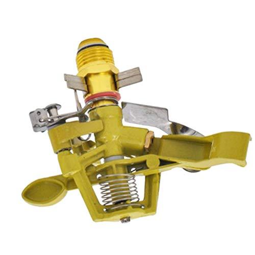 Sharplace irrigatore a pioggia rotativo spruzzatore acqua utensili giardino regolabile 0-360 gradi dn15