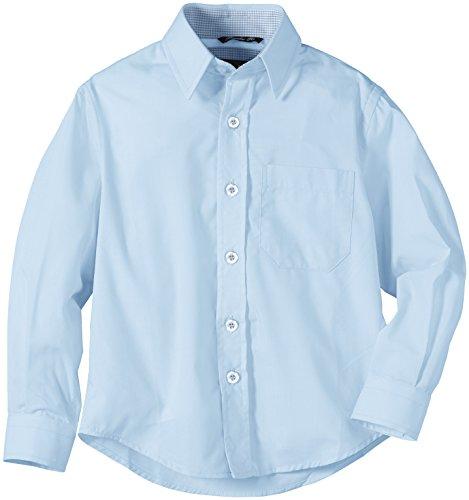 G.O.L. Jungen Hemd mit Kentkragen, Einfarbig, Gr. 152, Blau (skyblue)