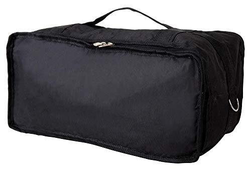 """XDrum Gigbag Tasche für Bongos (6,5"""" + 7,5"""", Nylongewebe, wasserabweisend, gepolstert, mit Tragegriff, 20 x 40 x 20 cm) schwarz"""