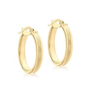 Carissima Gold Damen – Ohrringe 9 k (375) Rundschliff Diamant 1.53.2119