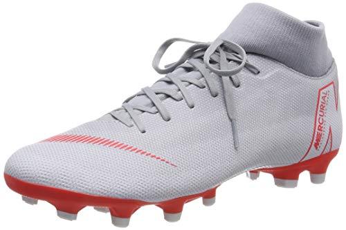 Nike ah7362, scarpe da calcio uomo, grigio (wolf grey/lt crimson-pure plat 060), 42 eu
