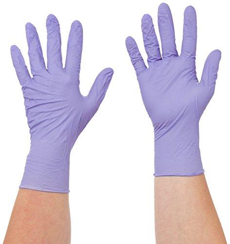 Semperguard 816780233/3000001617 XtraLite Einmalschutz und Untersuchungshandschuh aus Nitrillatex, puderfrei, Größe S, 6-7, Lavendelblau (200 er-Pack)