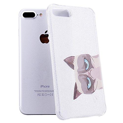 Coque iPhone 6S 6 , We Love Case Glitter Briller Gel TPU Silicone Case Ultra Mince Incassable Backcover Hard Case Bumper Étui de Protection Pochette Caoutchouc Cas de Couverture Arrière Coque Rigide P Chat