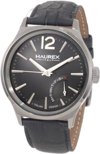 Haurex Italy 6J341UG1 Mens Elegant Grand Class Gray Dial Watch