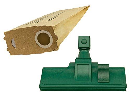 Kombidüse Bodendüse Set geeignet für Vorwerk Kobold 118 119 120 121 122 + 10 Beutel