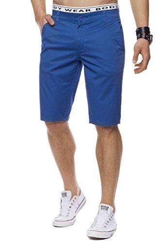 ArizonaShopping - Shorts Men Bermuda Shorts | (Casual Slim Fit) Knee Length Chino Shorts, Monochrome Summer Basic Shorts, Leisure Capri Shorts, Short Walk In 12 Summer Colors | H1442 In Brand Quality