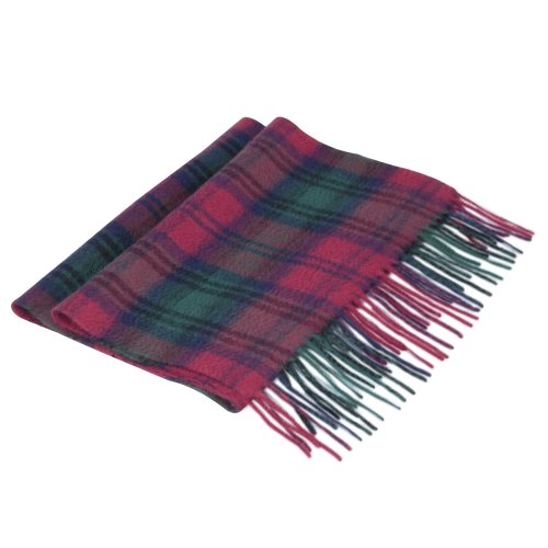 Lona Scott Tartan Lambs' Wool scarves