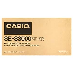 Casio Caisse enregistreuse électronique SE-S3000