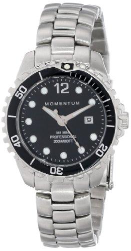 Momentum Damen-Armbanduhr XS M1 Mini Analog Quarz Edelstahl 1M-DV07BB0 (Momentum Taucheruhr M1)