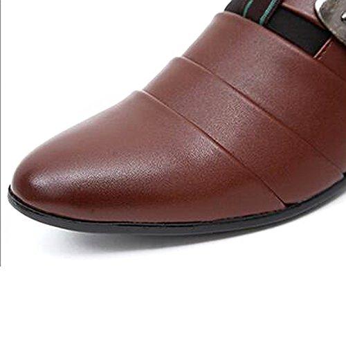 Clássico Marrom Oxford Formal Paris Hill Homens Sapatos wFq1Wvp