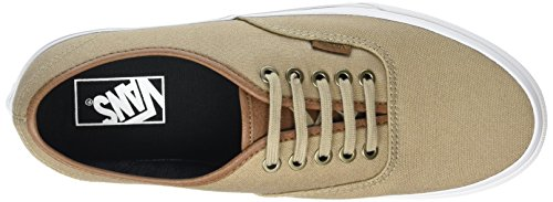 Vans Unisex-Erwachsene Authentic Low-Top Beige (C&L silver mink/true white)
