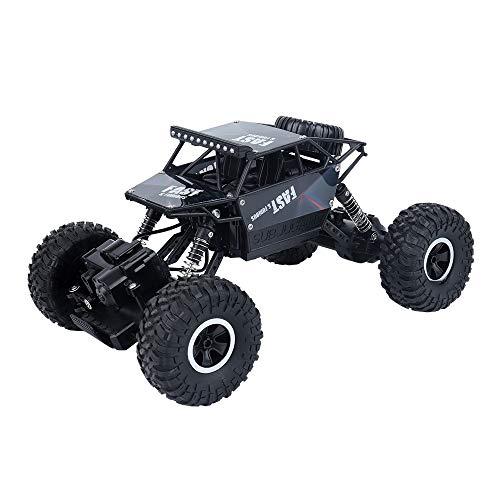 Ferngesteuertes Auto,RC Auto 1:16 2.4Ghz Racing Truck Geländewagen High Speed Monster Truck RC Buggy Race Rennauto Mit Wiederaufladbare Akku, Geschenk-18 * 15 * 26cm / 7.1 * 6 * 10.2 Inches,Black