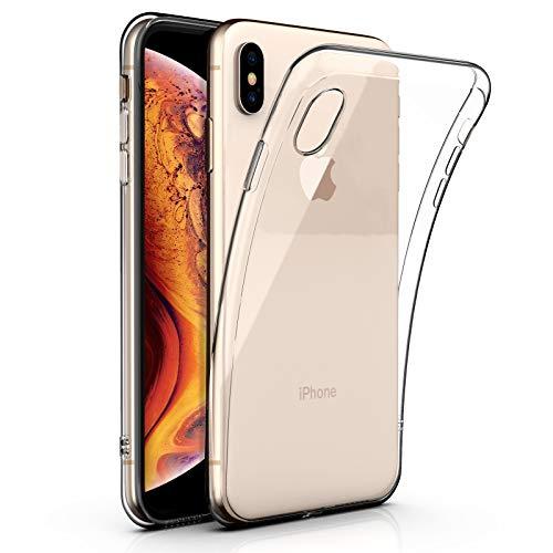 Funda de iPhone Danibos XS Max [6.5 pulgadas], Funda de silicona transparente TPU avanzada para iPhone XS Max [6.5 pulgadas] [Antichoque] [Ultrafina] [Ultrailigera] [Resistente al desgaste] [6.5 pulgadas]
