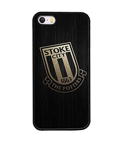 Iphone 5 / 5s Custodia Case, Stoke City - Football Club Scratch-Proof Ultra Slim Cool Aesthetic Unique Design Hard Plastic Back Shell SxIhAn-152